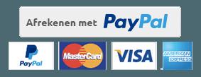 PayPal Acceptatie Logo